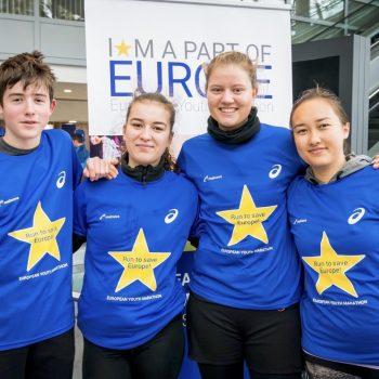 Laufen für Europa