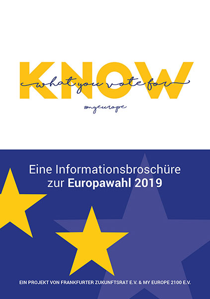 Information brochure European Elections 2019