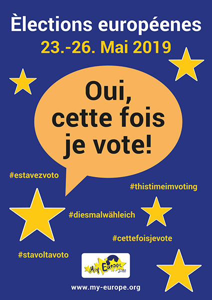 European Elections Poster French