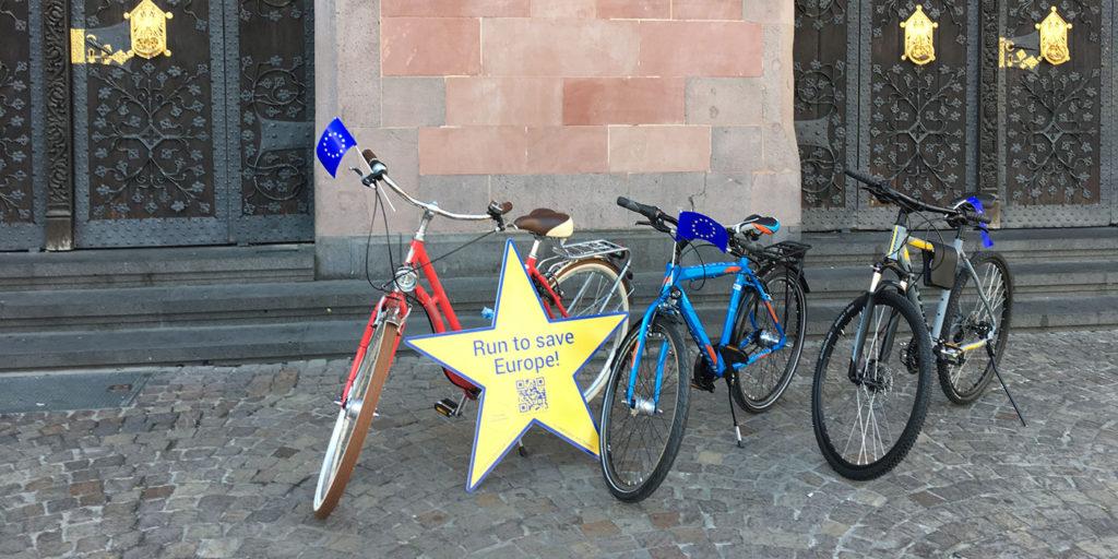 Gewinner-Fahrradverlosung
