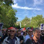 Demo in Frankfurt